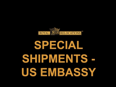 1_SPECIAL SHIPMENTS - US EMBASSY