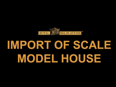 Import of Scale Model House