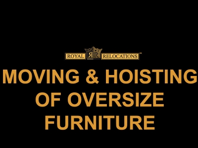 Moving & Hoisting of Oversized Furniture