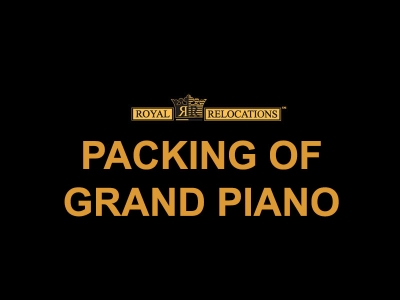 Packing of Grand Piano